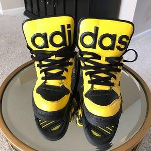 Jeremy scott for adidas men/4.5. Women/6